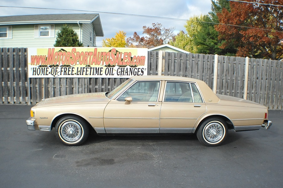 1985 chevrolet caprice classic sedan chevy best car sale waukegan web page advertiser