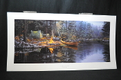 Darrell Bush Place in the Pines Signed Numbered Limited Edition