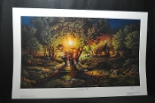 Terry Redlin the Colours of Spring Artist Signed Numbered Print for sale