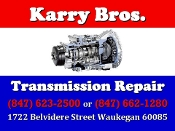 Karry Bros Transmission Repair Waukegan best solutions to fix your car Serving Waukegan, Zion, Gurnee, North Chicago, Beach Park