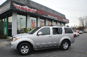 2005 Nissan Pathfinder SE Silver Used SUV 4x4 Sale by Washington Auto Group Waukegan Illinois