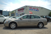 2004 Nissan Altima 2.5S Sand Sedan Used Car Sale at Motor City Auto Sales