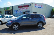 2010 Honda CRV Gray Metallic 4x4 SUV Navigation Used Car Sale at Motor City Auto Sales