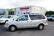 2002 Toyota Sienna Symphony Silver Used Mini Van Sale at Motor City Auto Sales