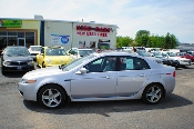 2004 Acura TL Silver Navigation Sedan Sale at Motor City Auto Sales