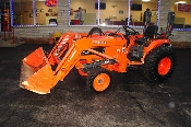 2005 Kubota B7800 Farm Agriculture Bucket Tractor for sale in Illinois