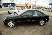 2005 Mercedes C240 Black 4matic 4Dr Sedan sale used car by Auto Mix Car Sales Waukegan Illinois