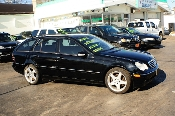 2002 Mercedes C320 Black 4Dr Wagon used car sale by Auto Mix Car Sales Waukegan Illinois