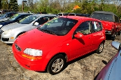 2008 Chevrolet Aveo Red Manual Used Compact car sale Mount Prospect Illinois