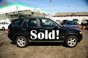 2002 BMW X5 Black 4Dr 4x4 SUV used car sale by Auto Mix Car Sales Waukegan Illinois
