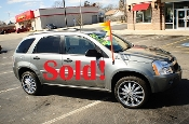 2005 Chevrolet Equinox LS 4Dr Silver SUV used car sale by Auto Mix Car Sales Waukegan Illinois