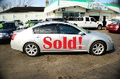 2007 Nissan Maxima SE 4Dr Silver Sedan used car by Auto Mix Car Sales Waukegan Illinois