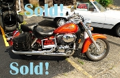 2003 Honda Shadow Orange Special Edition Motorcycle Sale in Zion Illinois