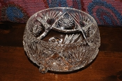 Cut Glass Crystal Decorative Star David Candy Fruit Bowl on Sale