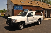 2013 Toyota Tacoma White Reg Cab Truck 4x2 Sale NAC North American Credit of Waukegan
