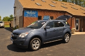 2011 Chevrolet Equinox LT Blue Used SUV Sale NAC North American Credit auto sales Waukegan Illinois