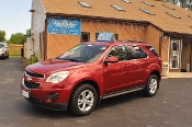 2014 Chevrolet Equinox LT Red Used SUV Sale NAC North American Credit auto sales Waukegan Illinois