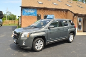 2013 GMC Terrain SLE Gray Used SUV Sale NAC North American Credit auto sales Waukegan Illinois