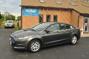 2016 Ford Fusion SE Gray Used Sedan Sale NAC North American Credit auto sales Waukegan Illinois