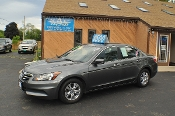 2011 Honda Accord Gray Used Special Edition Sedan Sale NAC North American Credit auto sales Waukegan Illinois