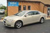 2011 Chevy Malibu LT Pewter Used Car Sedan Sale NAC North American Credit auto sales Waukegan Illinois