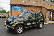 2006 Jeep Liberty Green 4x4 used SUV Sale NAC North American Credit auto sales Waukegan Illinois