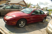 2005 Pontiac Sunfire Burgundy Sedan Used Car Sale by Dodd's Auto Sale Beach Park Illinois