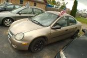 2003 Dodge Neon Pewter Sedan Used Car Sale by Dodd's Auto Sale Beach Park Illinois