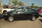 2013 Chevrolet Sonic Black Sedan Used Car Sale by Sortos used cars Waukegan auto trucker dealer