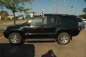 2005 Toyota 4Runner Black SUV 4x4 Used Car Sale by Sortos used cars Waukegan auto trucker dealer