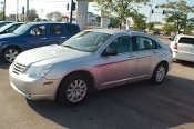 2008 Chrysler Sebring Silver Multair Turbo Sedan Sale by Sortos used cars Waukegan auto trucker dealer