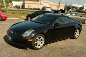 2003 Infiniti G35 Black Sport Coupe used car Sale at Motor City Auto Sales