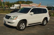 2004 Lexus GX470 White Used SUV Sale at Motor City Auto Sales