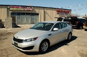 2011 Kia Optima GDI Silver Sedan Used Car Sale at Motor City Auto Sales