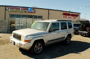 2007 Jeep Commander 4x4 Silver Flex fuel SUV Sale at Motor City Auto Sales