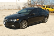 2007 Acura TL Type S Black Sedan Sale at Motor City Auto Sales in Waukegan