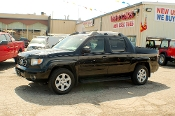 2006 Honda Ridgeline Black 4WD Crew Cab Truck Sale at Motor City Auto Sales