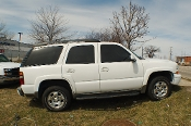 2004 Chevrolet Tahoe Z71 White 4x4 SUV Sale at Motor City Auto Sales
