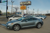 2007 Mitsubishi Eclipse SE Gray Special Edition Sale by Sortos used cars Waukegan auto trucker dealer