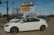 2005 Scion TC White Coupe Used Car Sale by Sortos used cars Waukegan auto trucker dealer