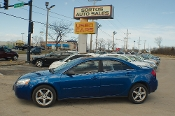 2007 Pontiac G6 Blue Sedan Used Car Sale by Sortos used cars Waukegan auto trucker dealer
