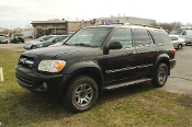 2005 Toyota Sequoia 4x4 Black SUV Sale at Motor City Auto Sales of Waukegan