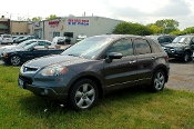 2005 Acura RDX Turbo Gray SUV Sale at Motor City Auto Sales in Waukegan