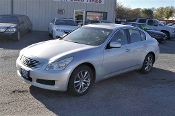 2008 Infiniti G35X Silver Navigation Sedan Used Car Sale at Motor City Auto Sales