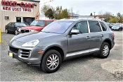 2009 Porsche Cayenne Gray SUV Sale at Motor City Auto Sales in Waukegan