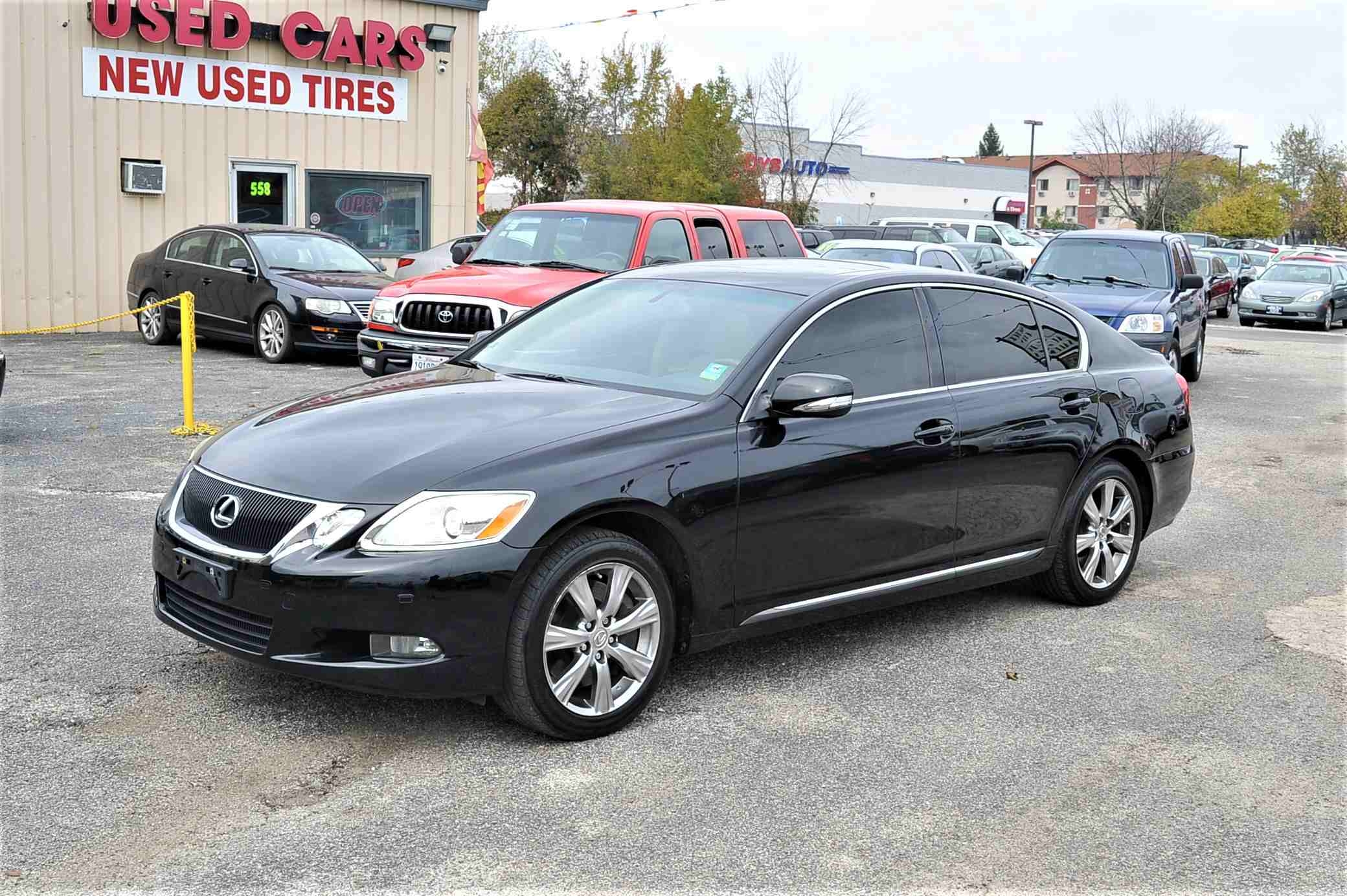 2008 Lexus GS350 Navigation Black AWD Sedan Sale Antioch Zion Waukegan Lake County Illinois