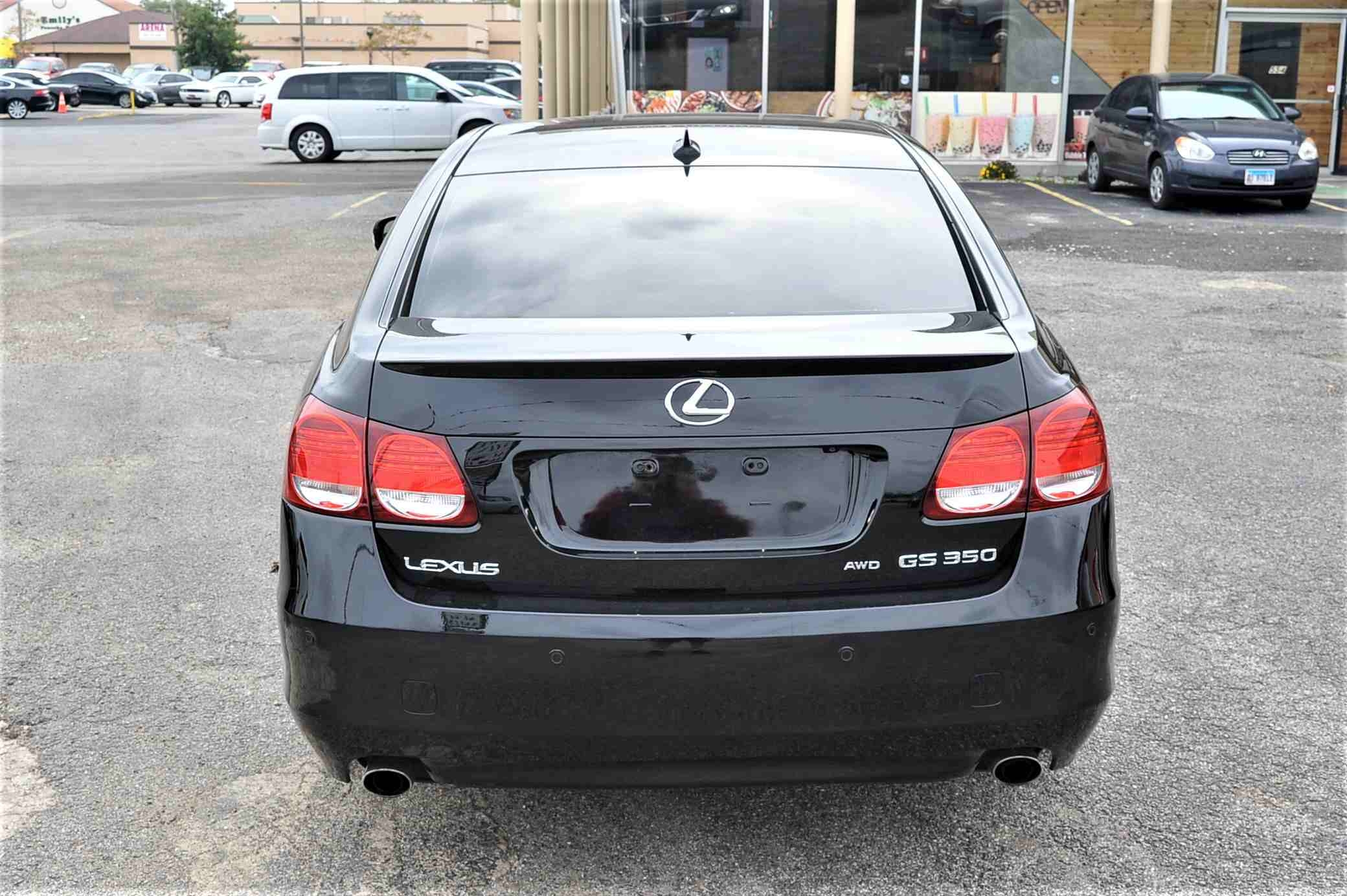 2008 Lexus GS350 Navigation Black AWD Sedan Sale Fox River Grove Grayslake Volo Waucanda