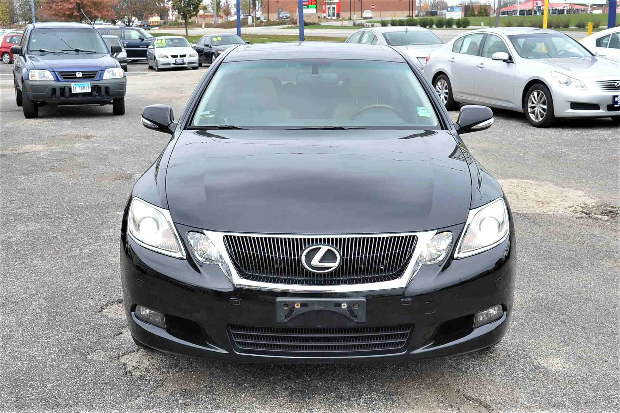 2008 Lexus GS350 Navigation Black AWD Sedan Sale Gurnee Kenosha Mchenry Chicago Illinois
