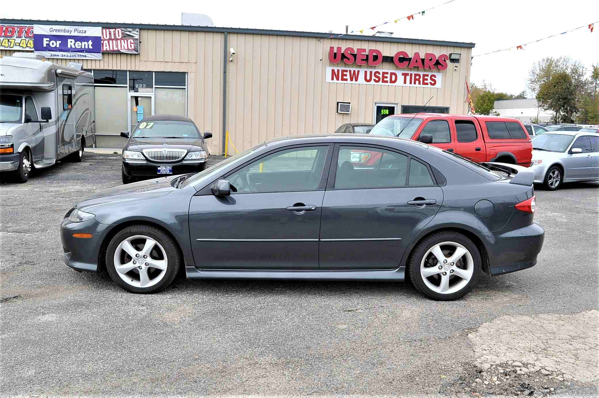 2004 Mazda 6 Gray Sedan Sale Used Car Sale Bannockburn Barrington Beach Park
