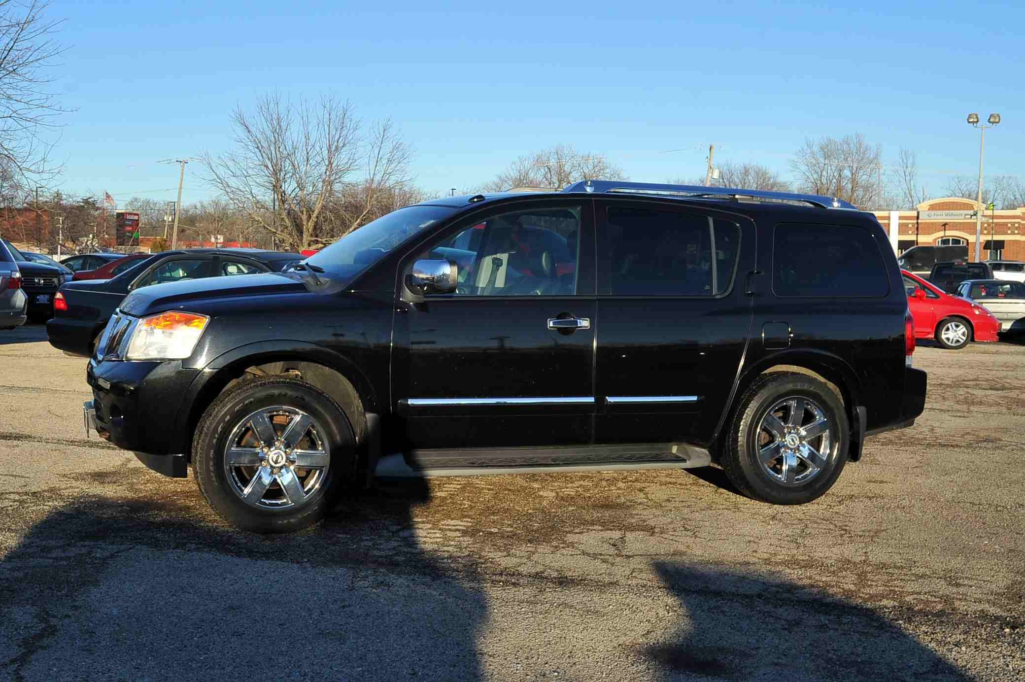 2010 Nissan Armada Black Platinum 4x4 SUV Sale Antioch Zion Waukegan Lake County Illinois